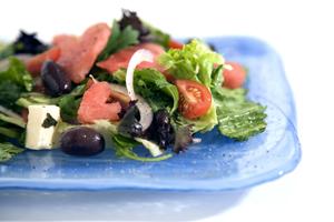Seedless Watermelon & Fetta Salad