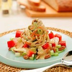 Recipe: Chicken and Seedless Watermelon Linguine