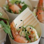 BBQ'd Yamba King Prawns – Lime Aioli