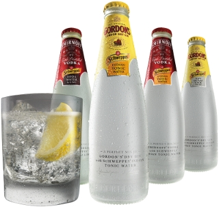 Schweppes Classics range shot