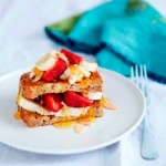 Cinnamon Ricotta and Strawberry French Toast