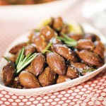 Almonds with Rosemary and Shallots