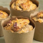 Banana and Pecan Wholemeal Muffins
