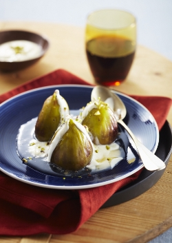 Queen Fine Foods Rosewater and Honey Syrup Figs