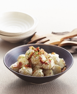 Queen Fine Foods Lemon Yoghurt and Pancetta Potato Salad