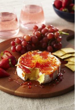 strawberry toffeed brie