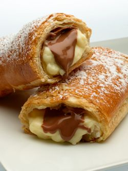 Chocolate Cheese  Pockets
