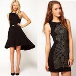 asos little black dresses