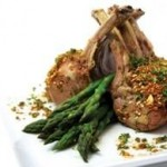 Spiced Lamb Rack with Table of Plenty Pistachio Dukkah