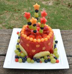 You By Ebony Of Neat 2 Eat As She Creates A Gorgeous Fruit Cake Sure To Tempt Tiny Tummies Thanks For Sharing This With Us It Looks Delicious