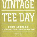 Interview: Dale and Sophie (Vintage Tee Day)
