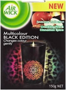 Multicolour Black_Crackling Fire & Cinnamon Spice