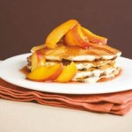 Recipe: Choc Chip Pancakes with Maple Nectarines