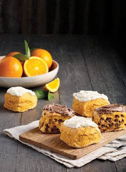 Bakers Delight Orange Scones Range