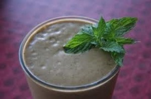 Green Chocolate Smoothie