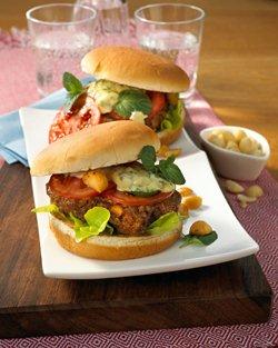 Macadamia hamburgers