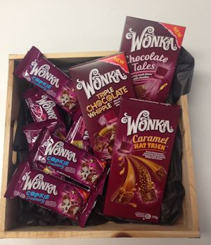 Win A Share Pack Of Wonka Chocolates