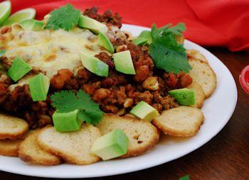 bagel nachos