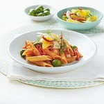 Recipe: Gluten Free Penne Rigate with Olives, Sicilian Fennel Salad and Basilico Sauce