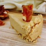 Recipe: Salted Caramel Cheesecake with Bagel Crisp Praline