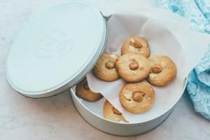 macadamia butter cookies