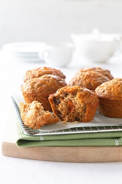 Low fat Persimmon muffins 1
