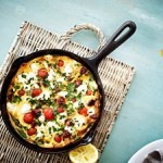 Recipe: Chorizo, Tomato and Feta Pan Omelette