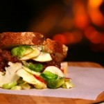 Recipe: Easy Pulled Pork with Apple and Brussels Sprout Slaw