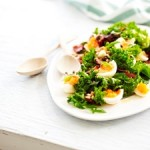 Recipe: Kale, Bacon and Egg salad