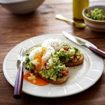 Recipe: Poached Eggs with Avocado and Feta Smash on Sourdough