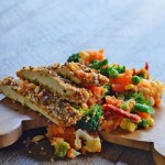 Recipe: Chia Seed Chicken and Smashed Veg