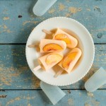 Recipe: Peach Popsicles