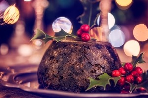 aga christmas pudding