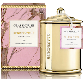 Glasshouse Fragrances Rendez-Vous Candle RRP $44.95 copy