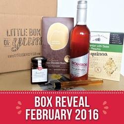Feb Little Box of Yum
