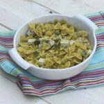 Recipe: Farfalle with Basil Tofu