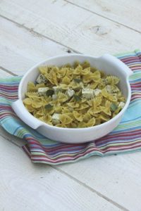 Farfalle with Basil Tofu