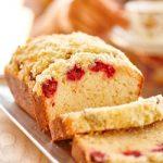 Recipe: Macadamia, Raspberry and Lime Streusel cake