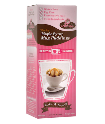 Maple Syrup Mug Puddings copy
