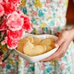 Recipe: Mothers' Day Fine Macadamia Shortbread Hearts