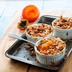 Recipe: Persimmon and Amaretti Crumble with Mascarpone and Aged Balsamic