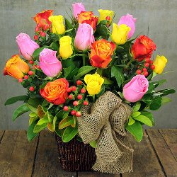 colourful-rose-basket