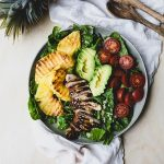 Recipe: Teriyaki Chicken and Grilled Pineapple Salad