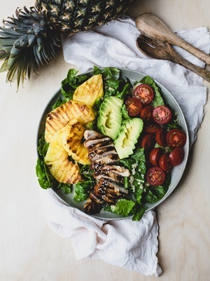 Australian_Pineapples_Teriyaki_Chicken_and_Grilled_Pineapple_Salad-3