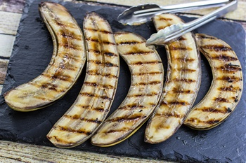 barbecue bananas