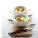 Recipe: Pea Soup with Bacon and Cheese