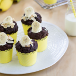 Recipe: Banana Double Chocolate Almond Muffins