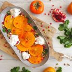 Recipe: Persimmon, Burrata and Pistachio Salad