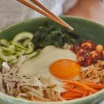 Recipe: Korean Bibimbap with Macadamia Gochujang Sauce