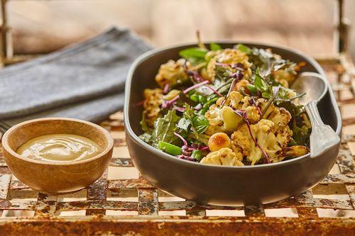 Recipe: Roasted Cauliflower and Macadamia Salad